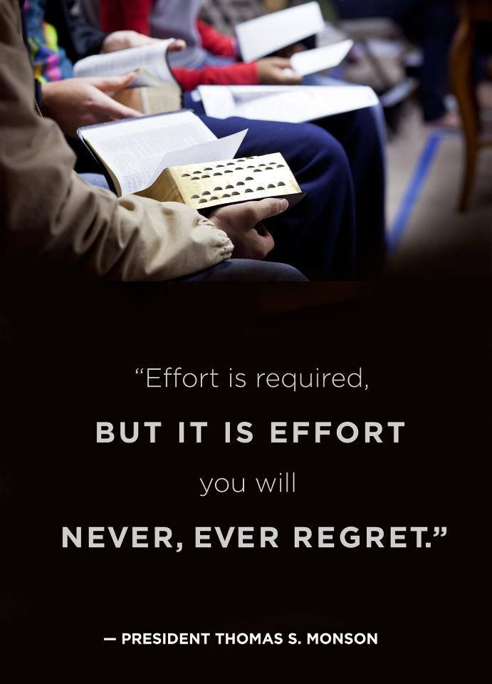 Effort | Church quotes, Lds quotes, Scripture study lds