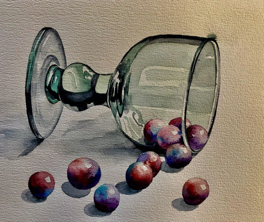 Serpil Umit On Instagram Watercolorplanet Art Finearts
