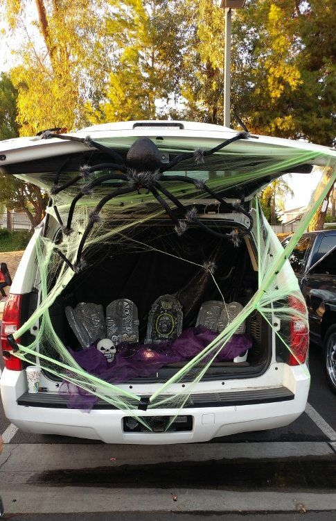 Trunk or Treat Decorating Ideas Halloween decor Pinterest - trunk halloween decorating ideas