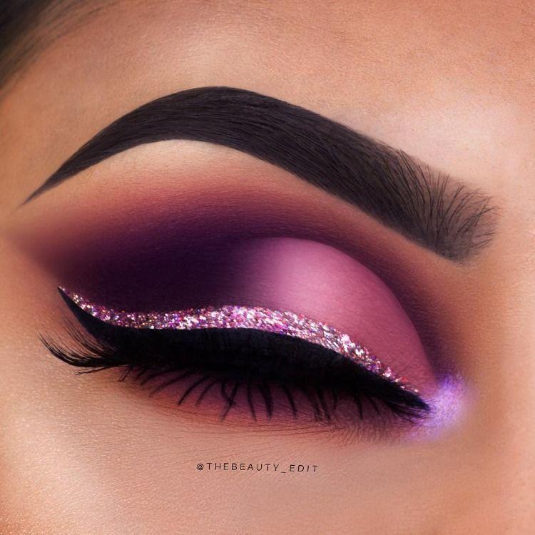 43 magical eye makeup ideas #purple purple eye makeup #makeup #eyemakeup #eyeshadow #makeupeyeshadow