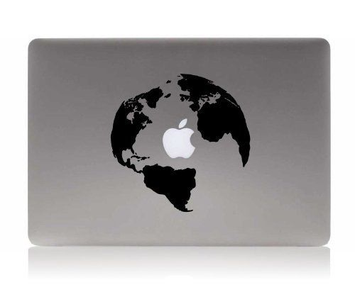 Amazon globe silhouette decal new ad decal apple laptop amazon globe silhouette decal new ad decal apple laptop decorative vinyl sticker gumiabroncs Choice Image