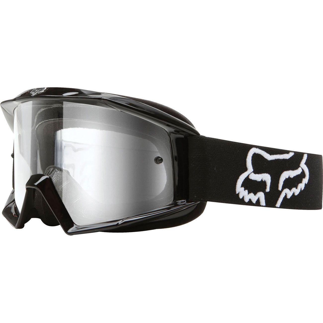 NEW Fox Racing Youth MX Main Race Black Kids Dirt Bike Motocross Goggles