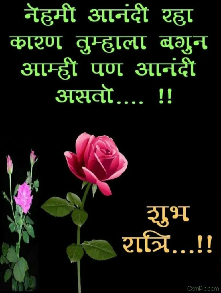 Good Night Marathi Shayri Good Night Marathi Shayari Good Night Messages Good Night Quotes Beautiful Good Night Images