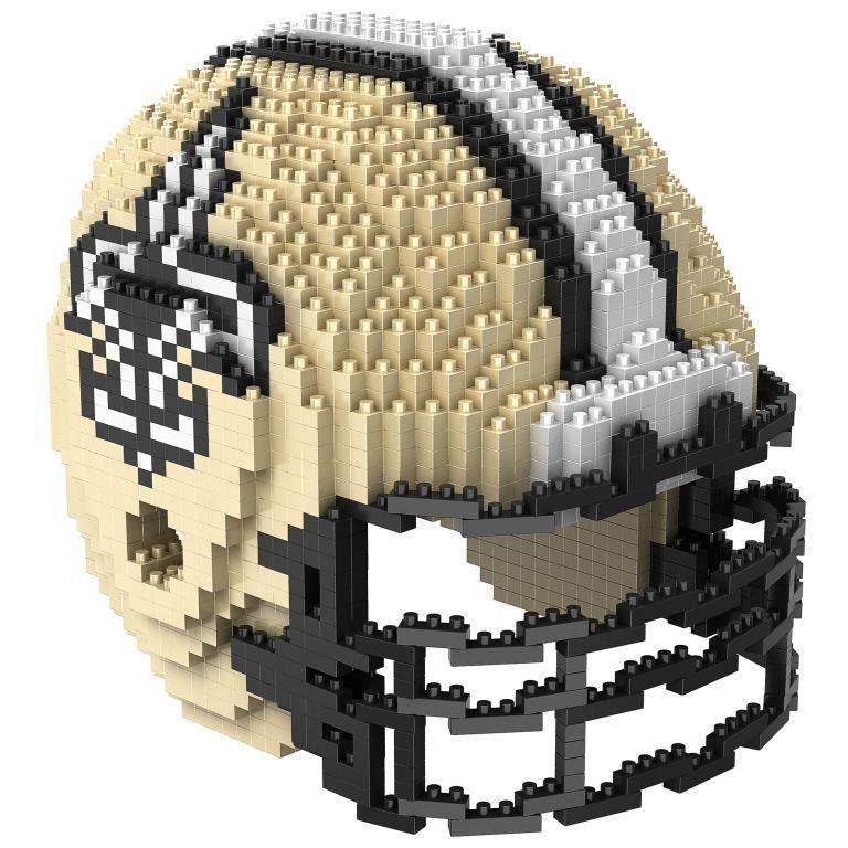 New orleans saints nfl 3d brxlz puzzle helmet set ships