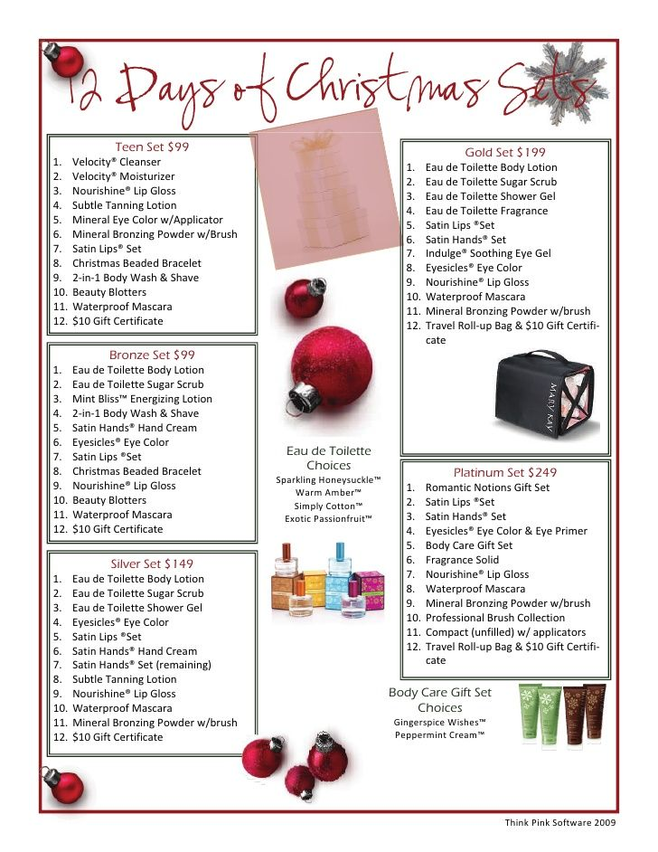 Mary Kay Christmas Gift Ideas 2019.12 Days Of Mary Kay Christmas Contact Me Jennifer Emanuel
