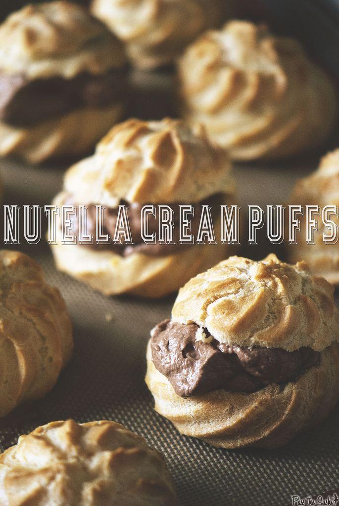 Bakery Classics: Nutella Cream Puffs