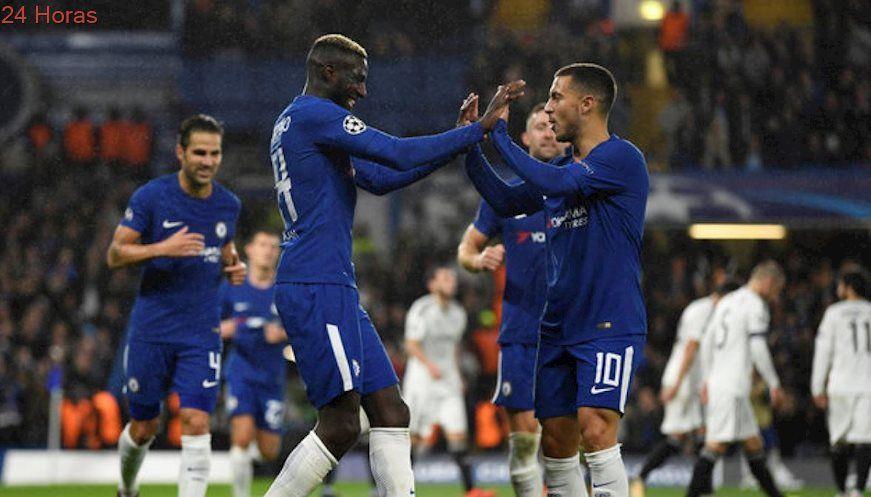 Chelsea no tuvo piedad: Golea al debutante Qarabag en Champions League