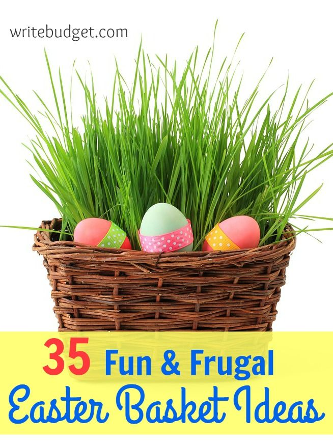 35 fun frugal easter basket ideas that arent candy basket 35 fun frugal easter basket ideas that arent candy negle Image collections