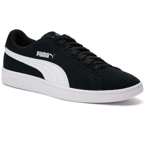 PUMA Smash V2 Men's Suede Sneakers (865 ARS) ❤ liked on Polyvore featuring  men's