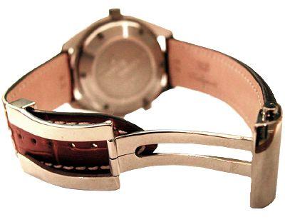 Genuine bracelet strap TROPIC caoutchouc 22 mm black NEW nos
