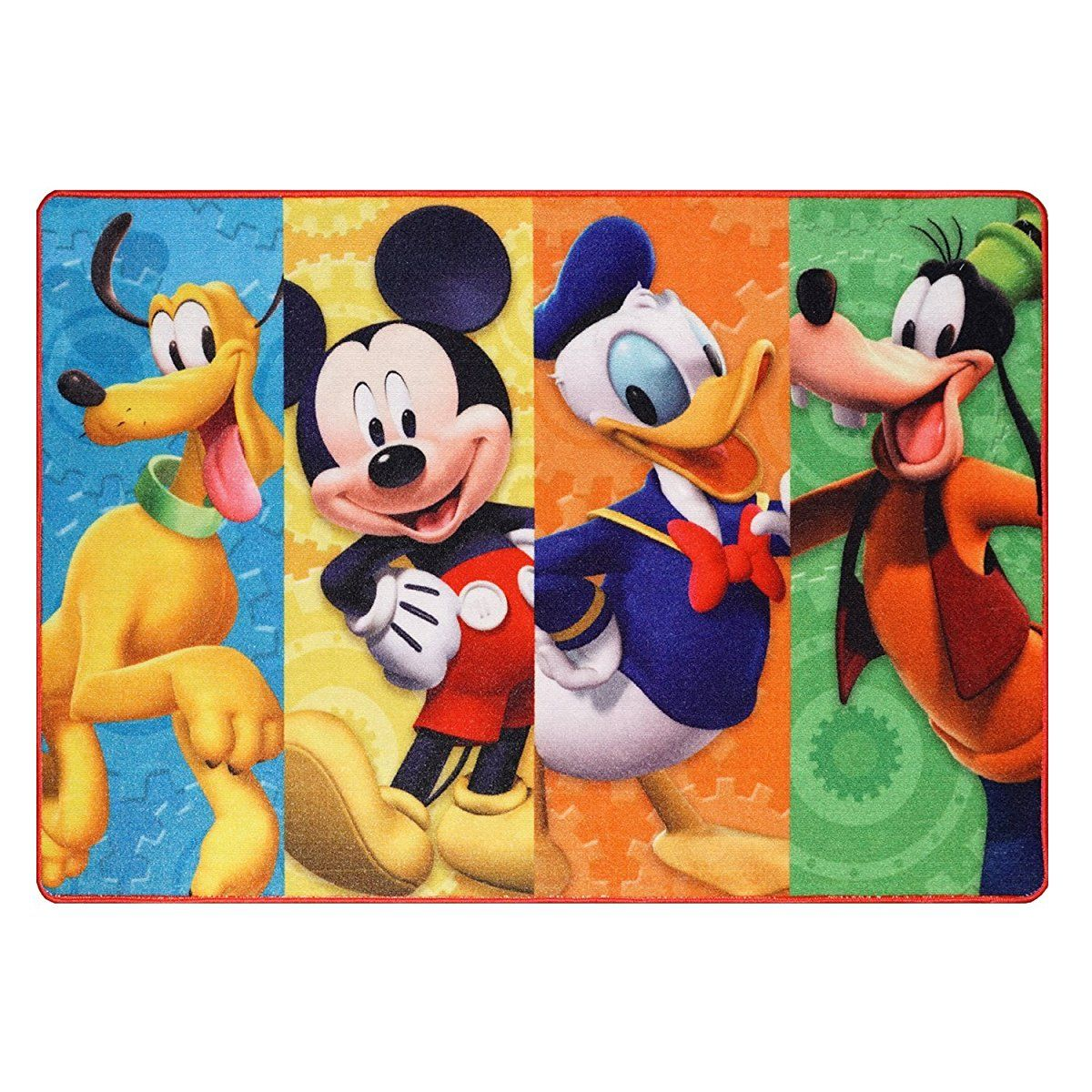 Disney Mickey Mouse Clubhouse Rug Hd Digital Mmch Kids Room Decor Bedding Area Rugs 40 X54 Standard In 2020 Kids Area Rugs Mickey Mouse Room Mickey Mouse Clubhouse