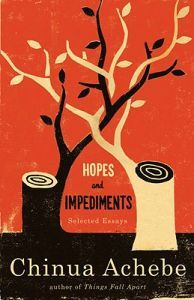 http://www.adlibris.com/no/product.aspx?isbn=038541479X | Tittel: Hopes and Impediments: Selected Essays - Forfatter: Chinua Achebe - ISBN: 038541479X - Vår pris: 83,-