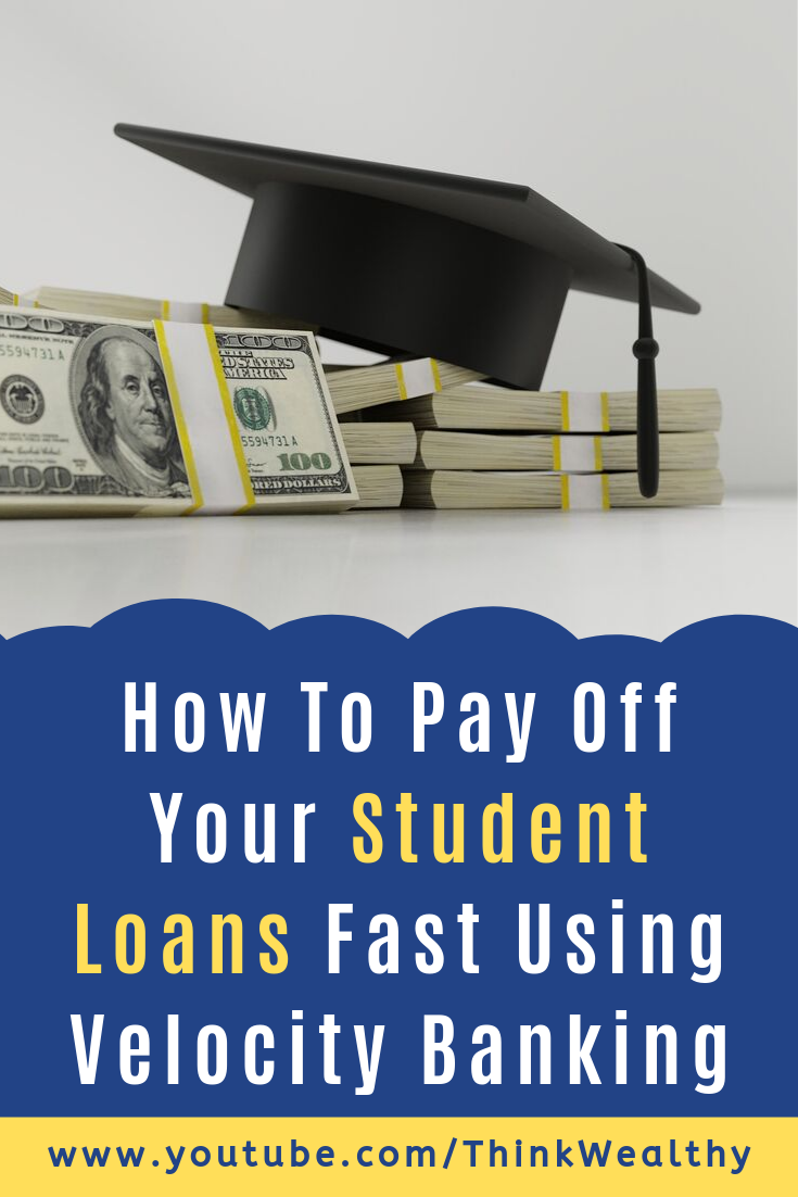 How To Pay Off Your Student Loans Fast Using Velocity Banking. - #Banking #Fast #Loans #Pay #Student #using #velocity