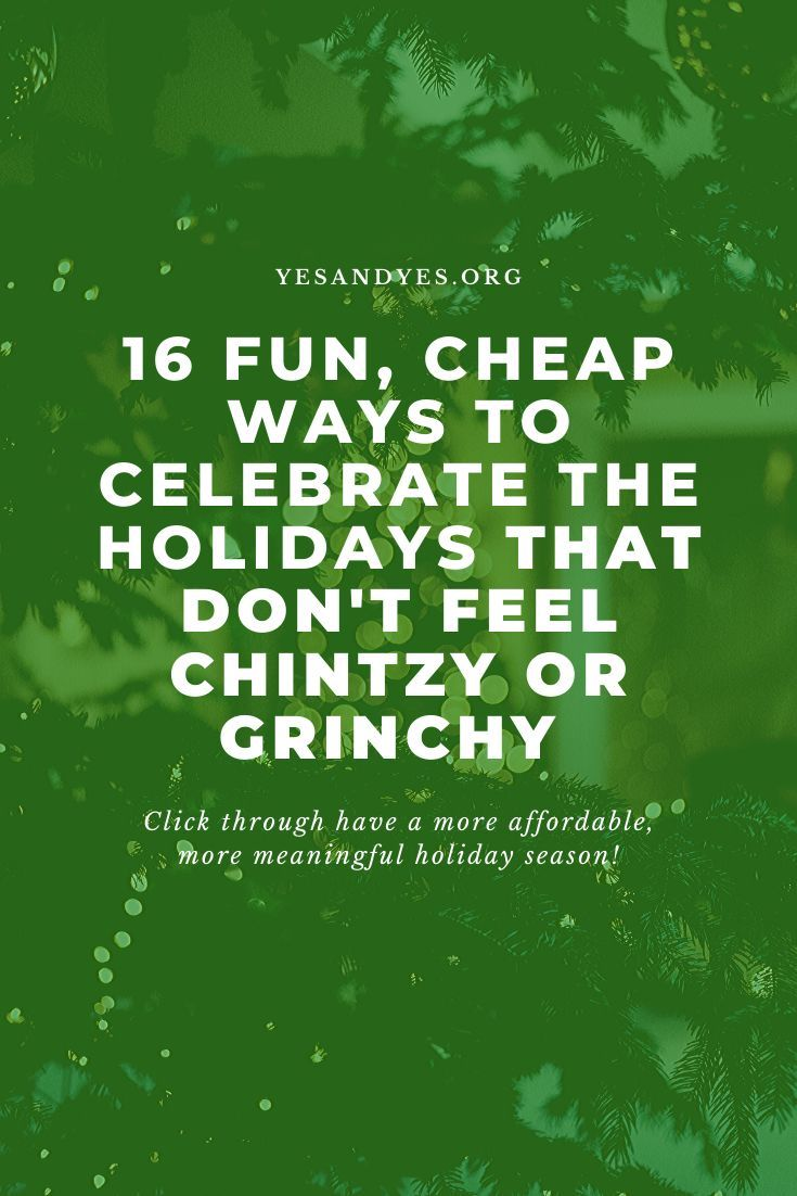 Looking for cheap ways to celebrate the holidays? Trying to budget for Christmas? Tap through for money-saving tips that will make your holidays affordable AND fun! #holidaytips #budgetholiday #minimalism #Christmasideas