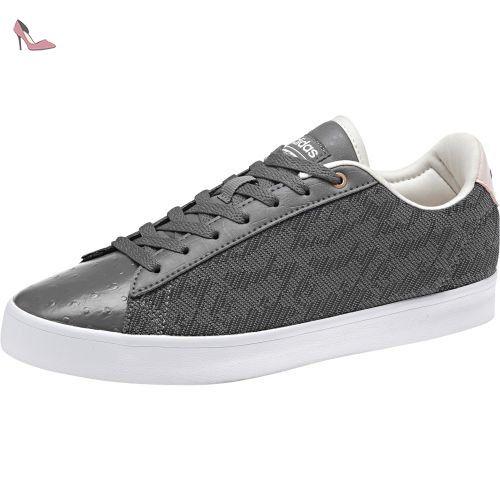 adidas CF Daily QT Cl W, Chaussures de Sport Femme - Gris - Multicolore (Gricua/Gricua/Neguti), 40 EU