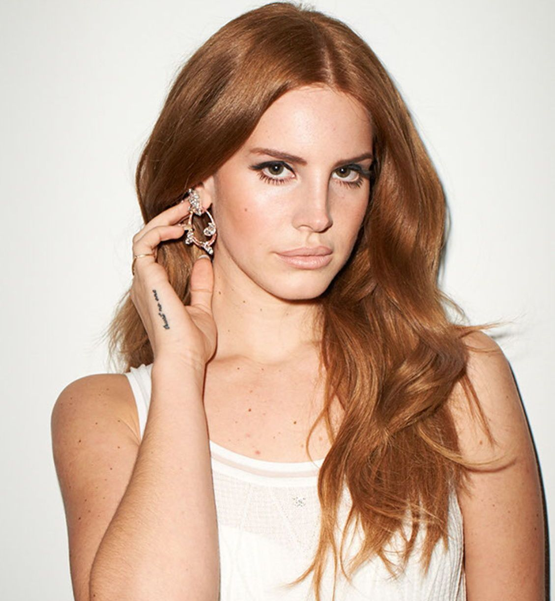 Lana Del Rey With Red Hair Color Haircolor Lanadelrey Hair Ginger Hair Color Ginger Hair