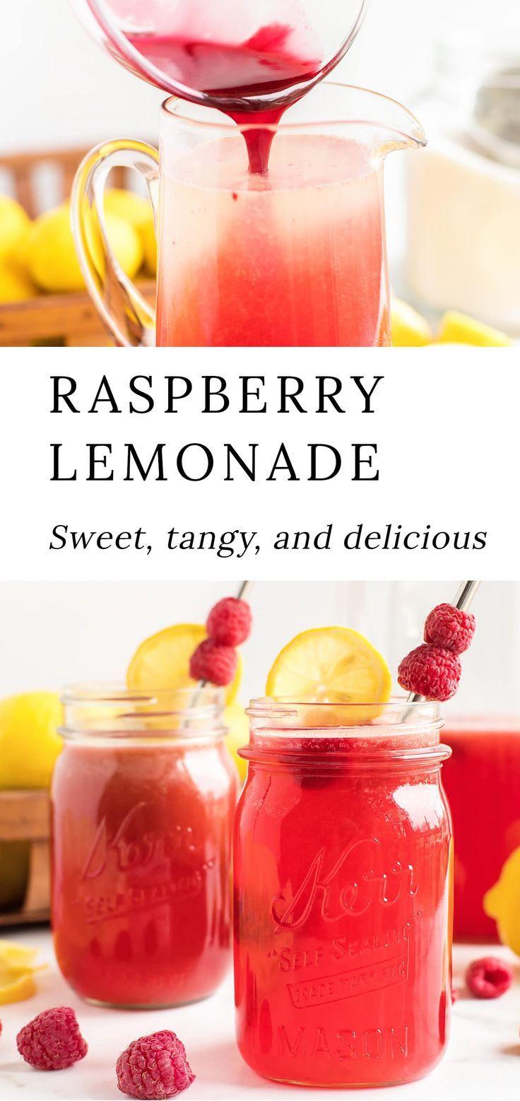 Fresh Raspberry Lemonade Recipe   Fireflies and Mud Pies