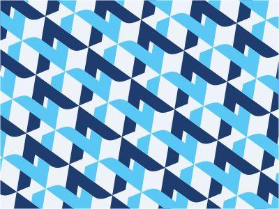 #blue interlocking #pattern #design