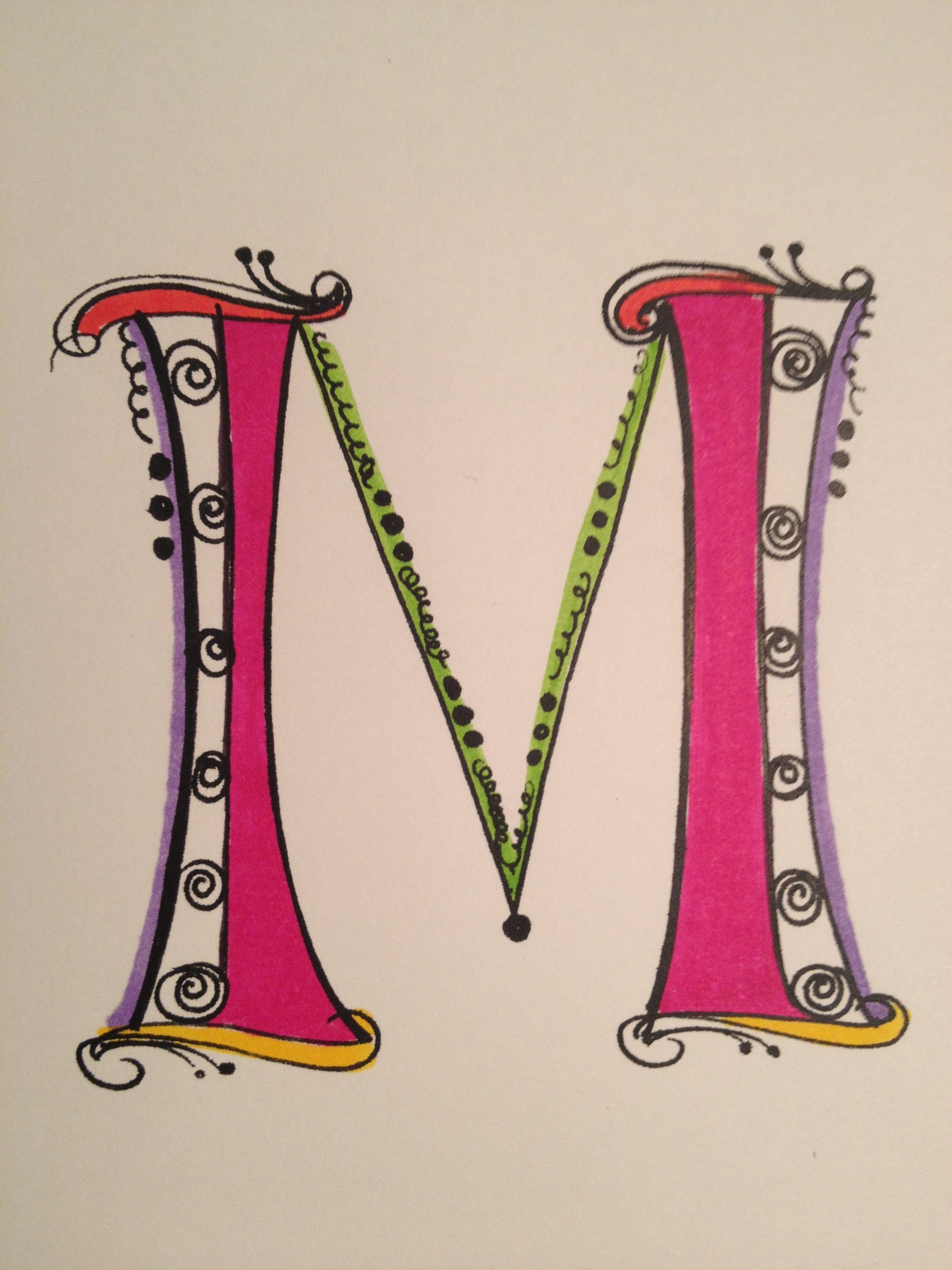 Zentangle Hand Lettering Pinterest Doodles