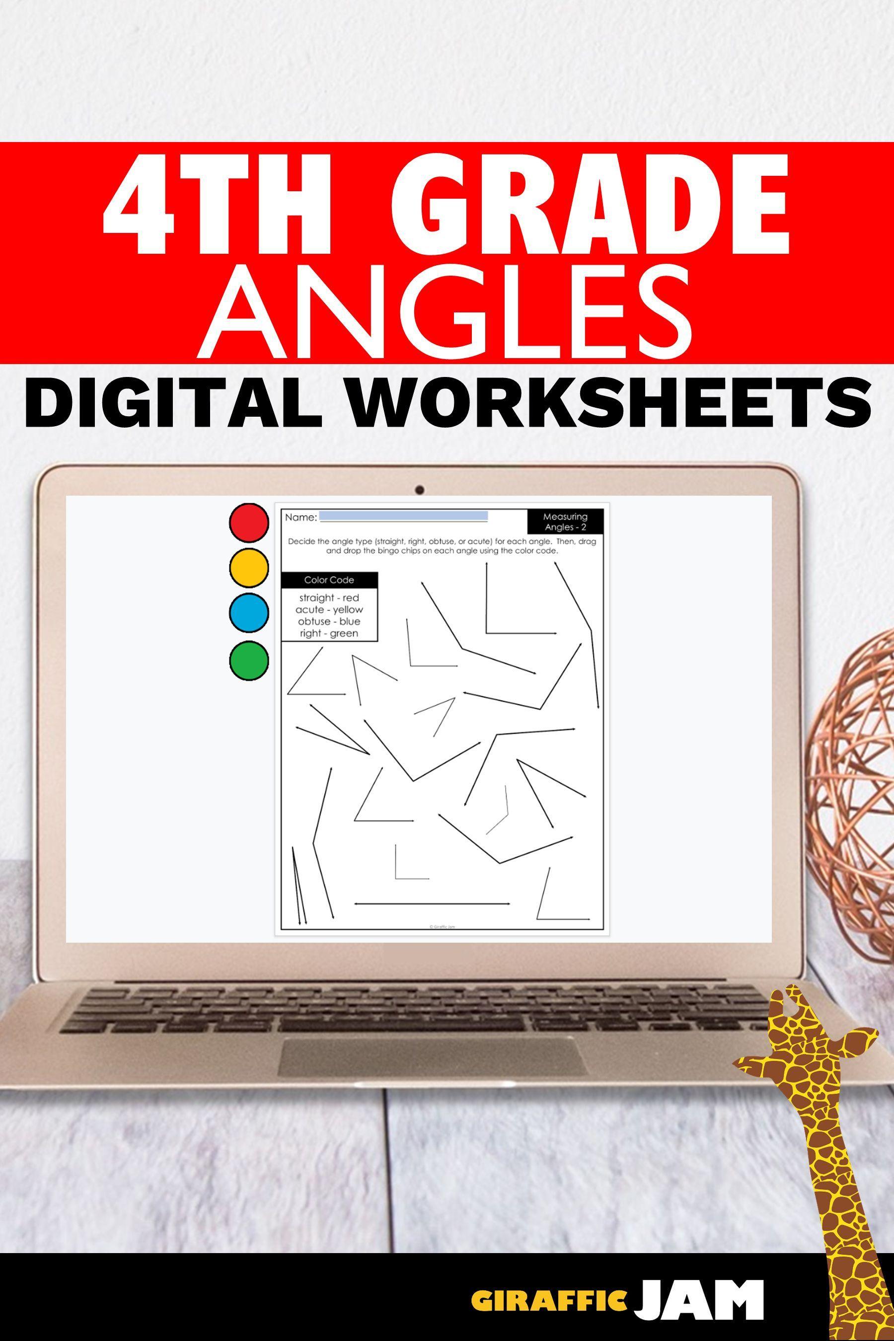 4th Grade Measurement Measurement Worksheets Angles Measuring Angles Digital Works Measurement Worksheets Google Classroom Google Classroom Activities [ 2700 x 1800 Pixel ]