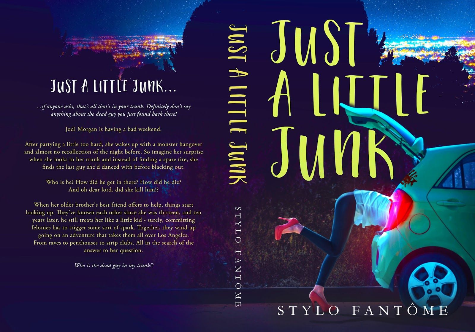 Cover Reveal Just A Little Junk By Stylo Fantome