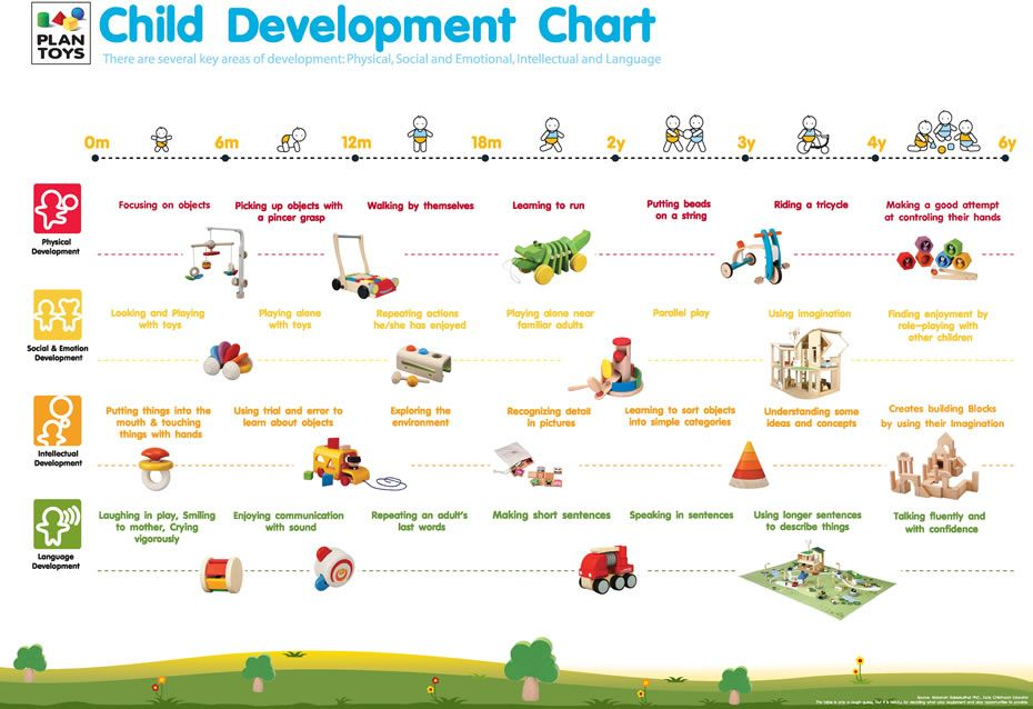 Toys For Developmental Stages : Child development chart plantoys bg