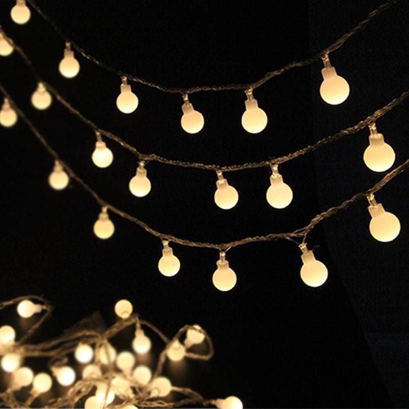 Fairy LED String Lights Christmas Round Ball Blubs Wedding Party Lamp 3M NEW
