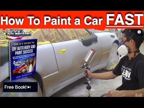 How To Paint A Car Bare Metal To Clearcoat Steps To Painting A