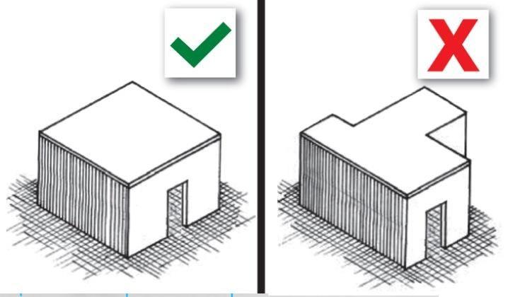 Earthquake Building Do 39 S And Don 39 Ts Minimalist Modern Hillside Homes Pinterest