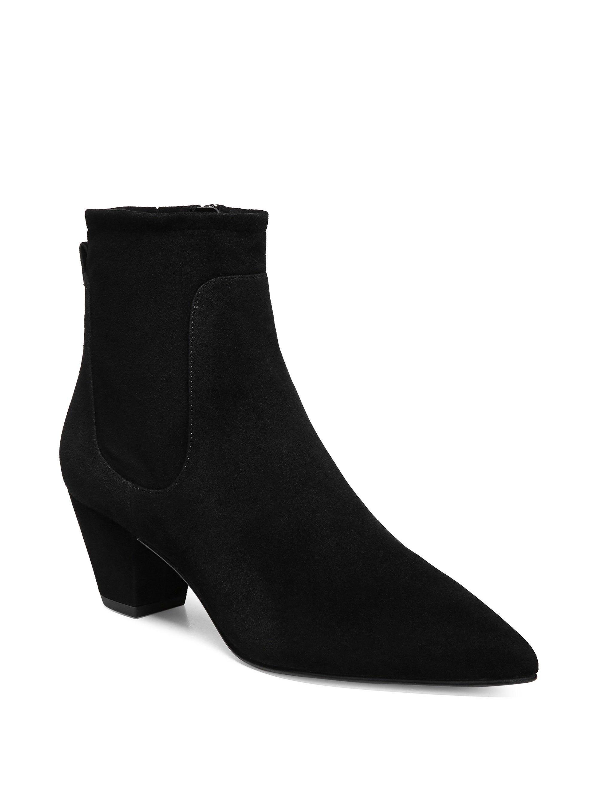 d411d1441ab67 Sam Edelman Karlee Suede Boots - Black 10.5