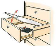 schubladen versteck geheimfach pinterest verstecke. Black Bedroom Furniture Sets. Home Design Ideas