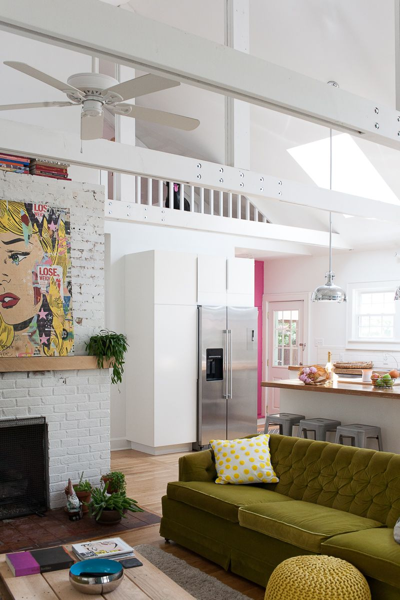 A Vibrant, Playful Home for a Creative Family in Indianapolis ...