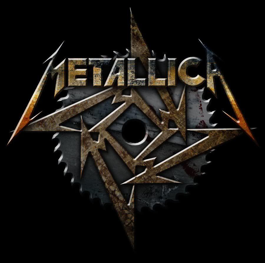 Metallica Logo Y Estrella De Quot M Quot Bandas Y Gustos