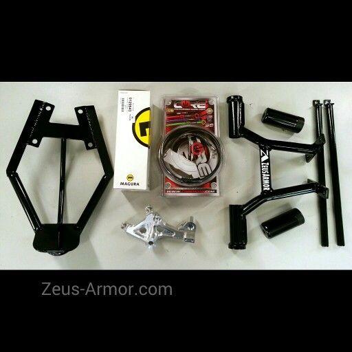 Nice little stunt package for Honda Grom/MSX 125 includes