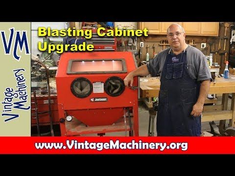 Elegant Tacoma Company Blast Cabinet Upgrade