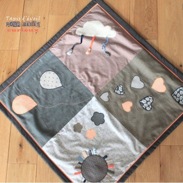 diy b b 10 tapis d 39 veil faire soi m me patchwork pinterest bebe patrones y mantas. Black Bedroom Furniture Sets. Home Design Ideas