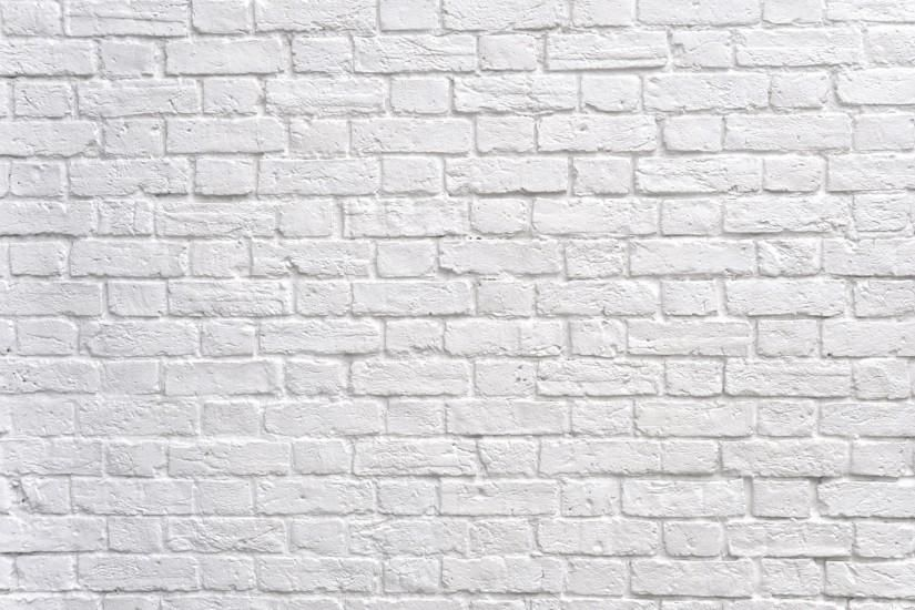 White Brick Wallpaper Desktop