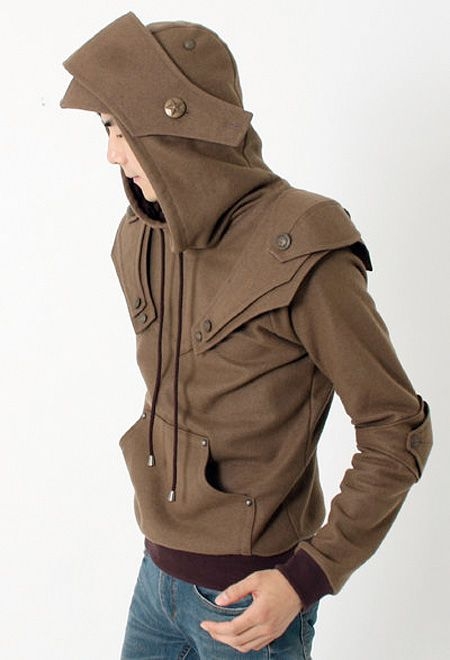 c5f4d8d3 Design · Rain Jacket · hoodies designed to look like Medieval Armor will  transform you into a modern knight. Designed