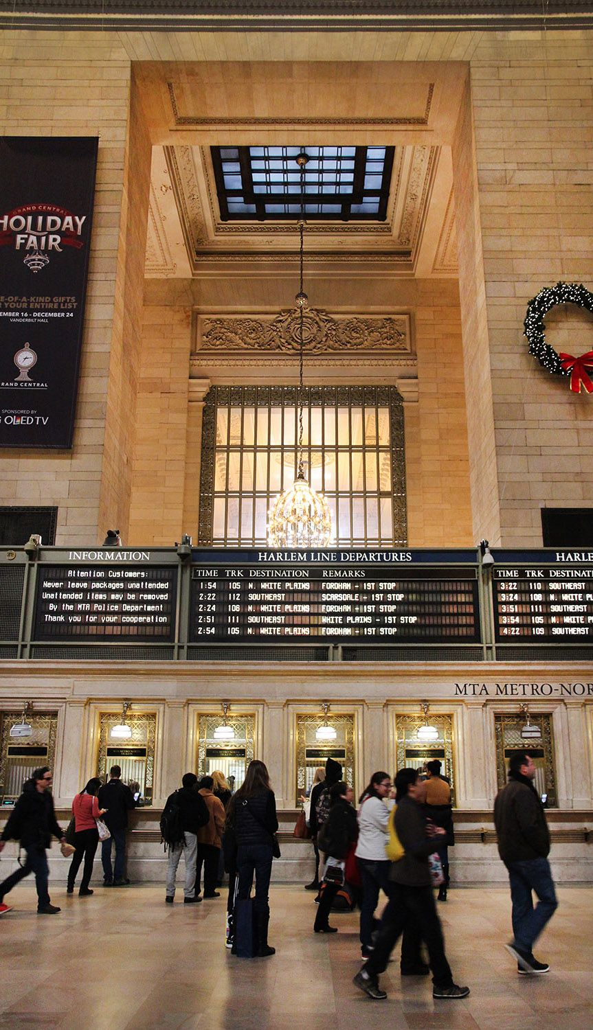 World Tourist Places: New York City  |Attractions Near Grand Central Station