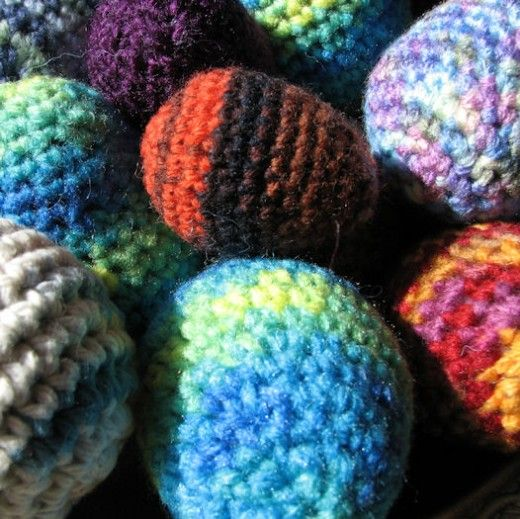 How to Crochet Easter Eggs: Free Pattern