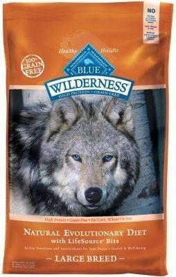 BLUE BUFFALO DOG DRY - WILDERNESS LARGE BREED CHICKEN - 24LB
