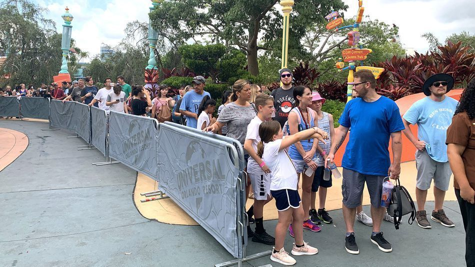 The Wait Times For The New Harry Potter Ride In Islands Of Adventure Have Been A Long As 10 Hours For Th Harry Potter Ride New Roller Coaster Universal Orlando
