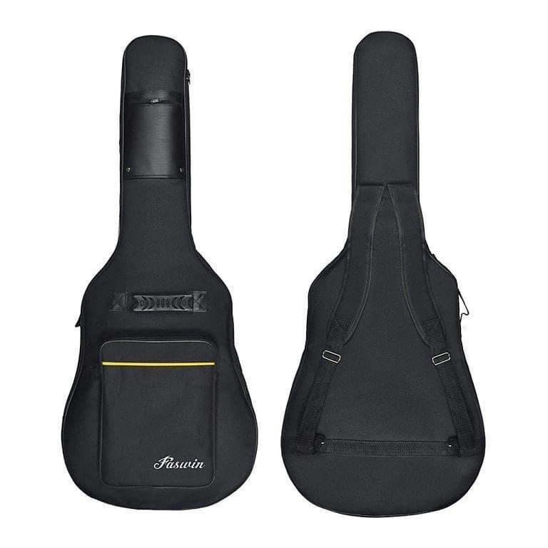 41 Inch Guitar Bag Dual Adjustable Shoulder Strap Acoustic Guitar Gig Bag Guitar Bag Shoulder Strap Sling Backpack