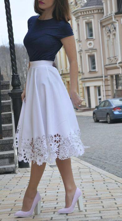 11 faldas de moda de las que te enamorarás esta temporada