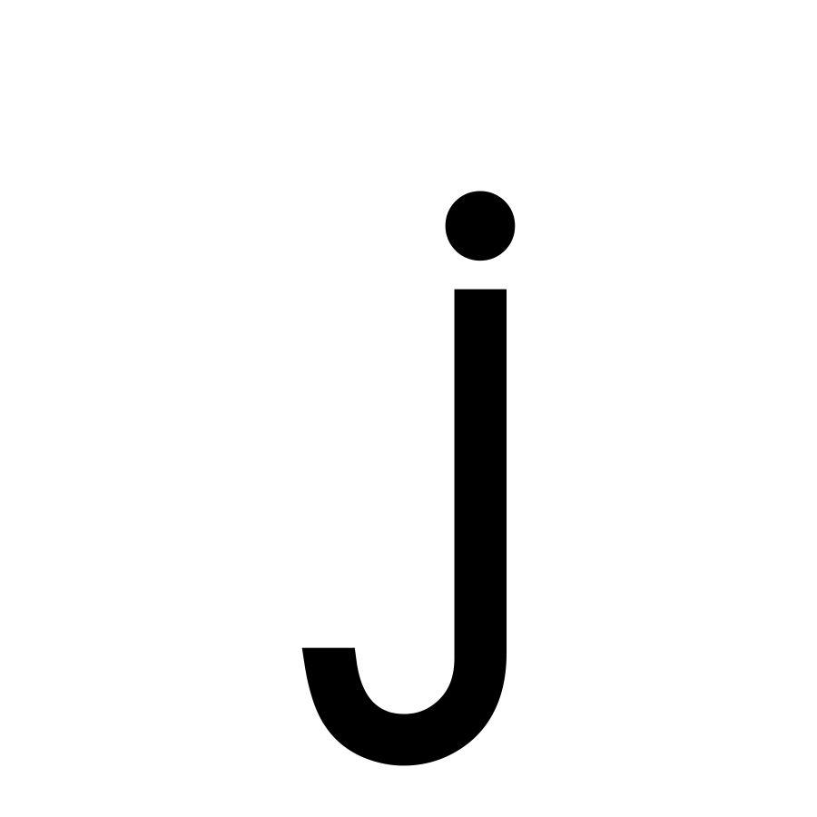 Small Letter J Small Letters Lettering Letter J
