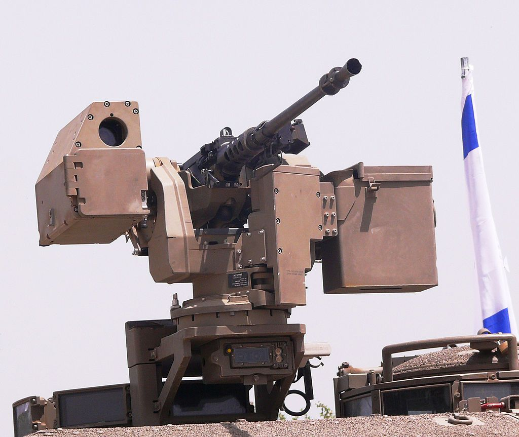 Samson Remote Controlled Weapon Station | CK | Military robot