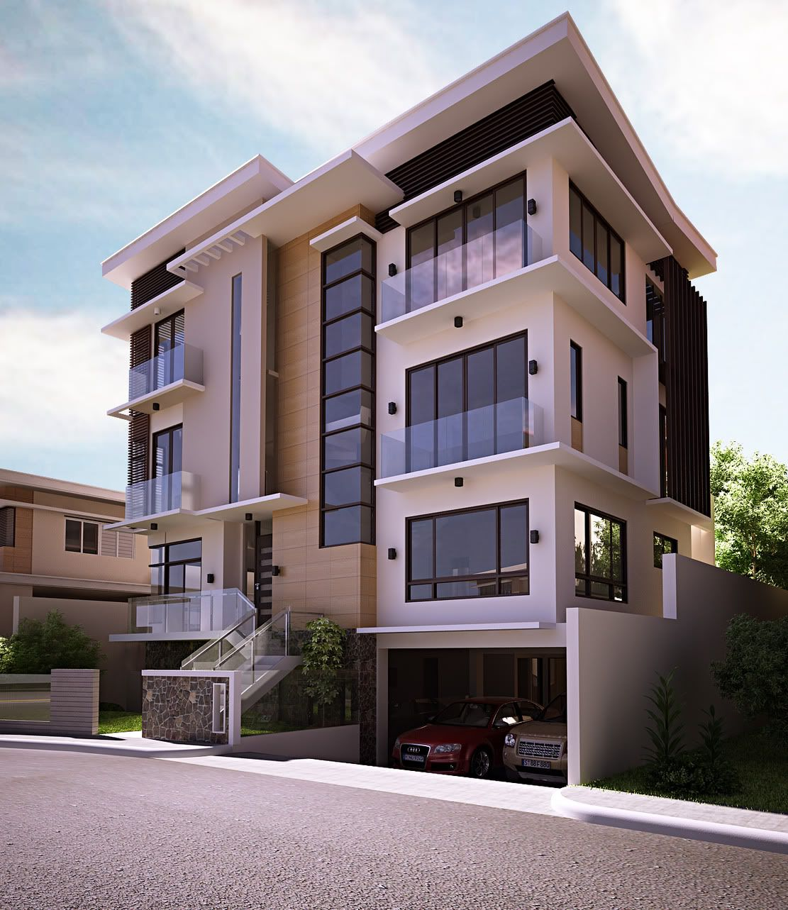 Four Storey Modern Residential (Updated Final Revision