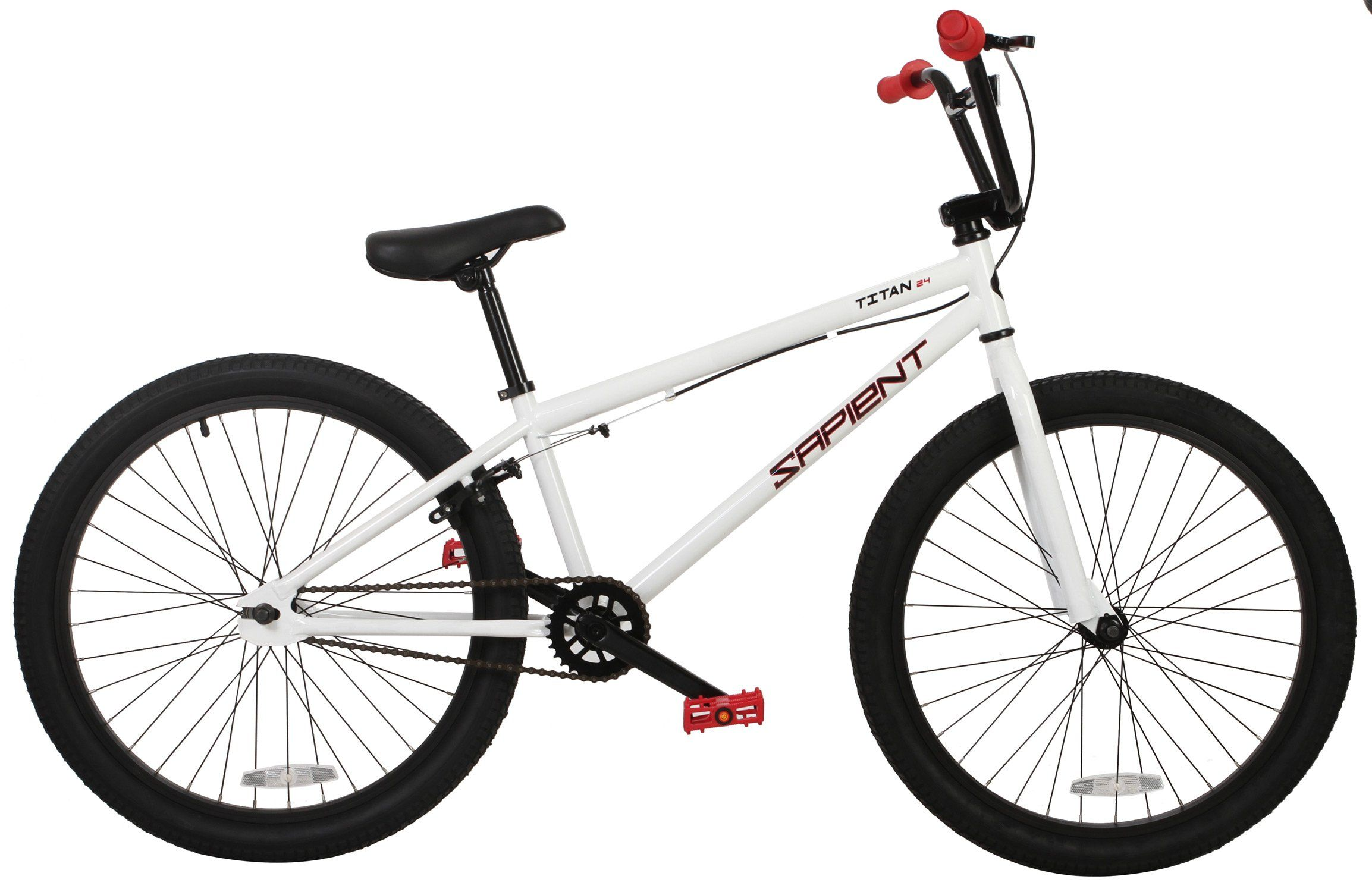 Sapient Titan BMX Bike Sz 24in/22.7in Top Tube. FRAME: HiTen 22.7