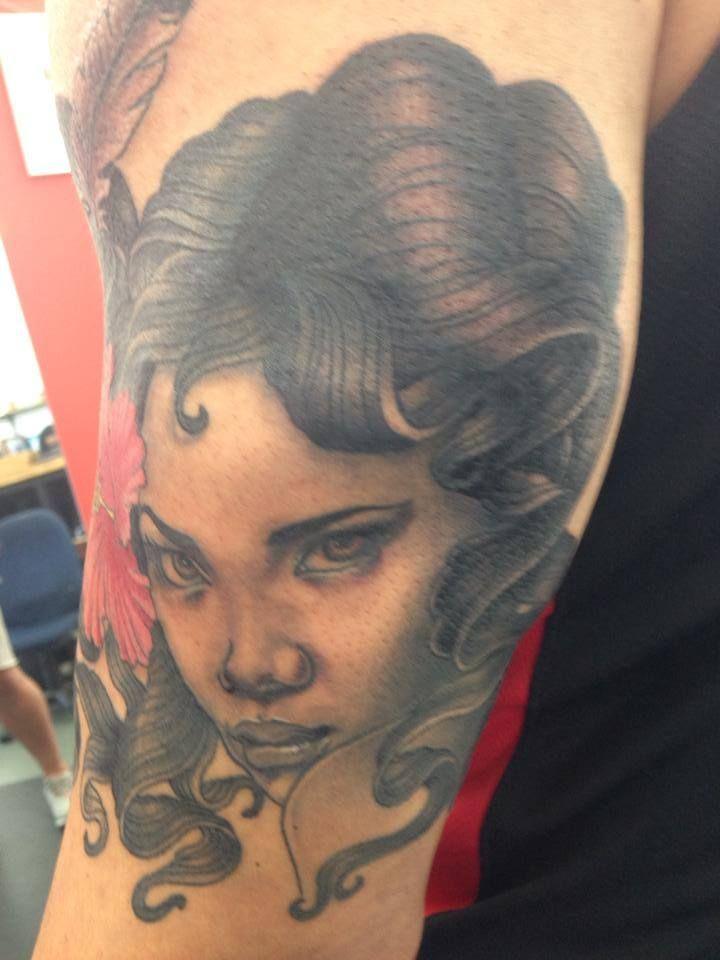 Kim seng new zealand tattoo tattoo artists portrait