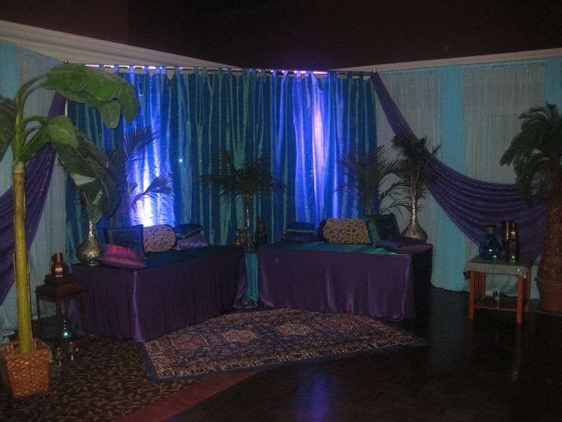 Lounge Corner For Arabian Nights Themed Party Done By Design And Mesmerizing Design And Decor Ottawa